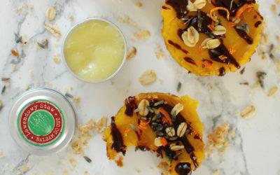 Lawendowo-pomarańczowe ciasteczka owsiane